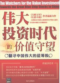 伟大投资时代的价值守望:翻寻中国伟大的蓝筹股小说全本阅读